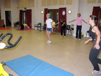 keep fit at the hall